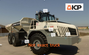 Terex Articulated Dump Truck Ta400 Tier4 2012