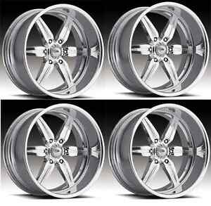 17 Pro Wheels Spitfire 6 Forged Billet Rims Aluminum Foose Racing American Intr