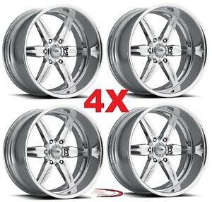20 Pro Wheels Custom Forged Billet Rims Aluminum Alloy Foose Intro Racing Mags