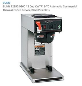 Bunn Thermal Carafe Automatic Coffee Brewer cwtf15 tc 0360