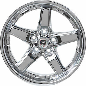 4 Gwg Wheels 18 Inch Chrome Drift Rims Fits Pontiac Gto 2004 2006