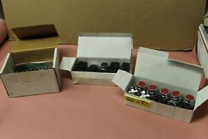 Ersce Push Button Switch 10 Each Red Green Black 30pc Lot 30 rp2