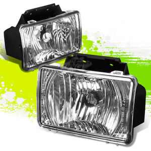 For 04 12 Chevy Colorado Gmc Canyon Clear Lens Oe Bumper Fog Lights Lamps Pair