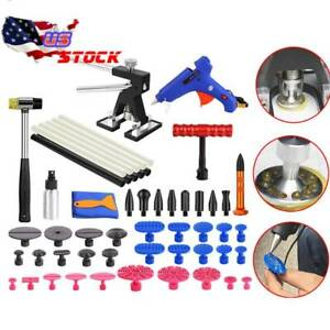Auto Body Paintless Hail Repair Pdr Dent Lifter Puller Ding Removal Tools Kits