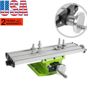 2axis Milling Compound Working Table Cross Sliding Lathebench Drill Vise Fixture