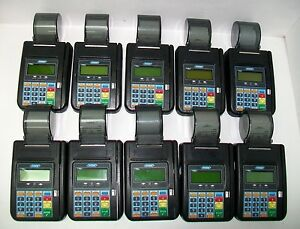 Lot Of 10 Hypercom T7plus Credit Card Machine Reader