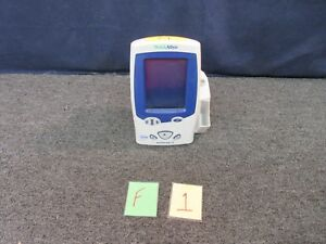 Welch Allyn 45nt0 Spot Vital Signs Lxi Monitor Patient Medical Temp Charger Used