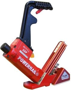 Hardwood Flooring Cleat Air Nailer Tool 18 gauge Pneumatic Flex Cast Aluminum
