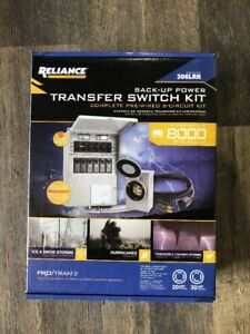 90033 Reliance Controls 306lrk 6 circuit Back up Power Transfer Switch Kit
