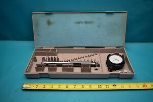 Used Mitutoyo Dial Bore Gage 511 163 With Case