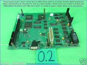 Ab A77144 209 71 Panelview 900 Master Pcb As Photo Sn 5757