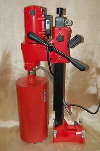 New 8 Bluerock Tools Core Drill W Stand Concrete Coring High Quality