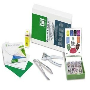 Coltene Hygenic Rubber Dam Winged Complete Kit For Dental Use