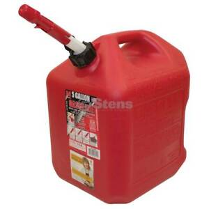 5 Gallon Plastic Fuel Can