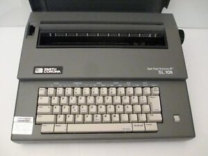 Smith Corona Spell Right Dictionary Sl 105 Electric Typewriter W Cover