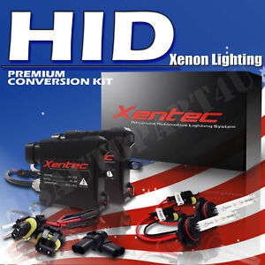 1994 2008 Dodge Ram 1500 High Low Beam Headlight Fog Light Hid Slim Kit Xenon