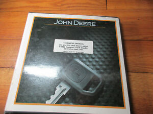 John Deere 317 And 320 Skid Steer Loader Operation And Test Technical Manual