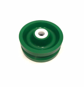 Solid Polyurethane V groove Wheel 5 X 2 With 3 4 Id Wet Environment Bearing