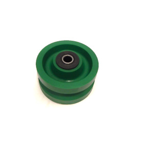 V groove Solid Polyurethane Wheel 4 X 2 With 1 2 Id Needle Roller Bearing