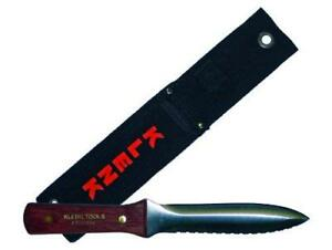 Da71000 Klenk Tools Dual Duct Insulation Knife Rosewood Handle