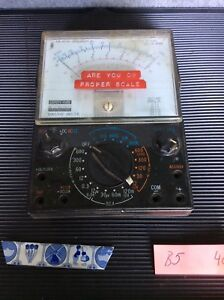 Vintage Sherry Multi Meter Ac Dc Ohms 1200v Japan