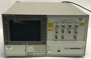 Hp 70004a Spectrum Analyzer Mainframe W 70420a Phase Noise Test Set