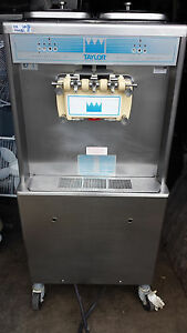 2004 Taylor 754 Soft Serve Frozen Yogurt Ice Cream Machine Warranty 3ph Water