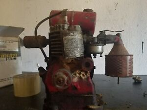 Antique Vintage Clinton Gas Engine Motor Mini Bike Go Kart