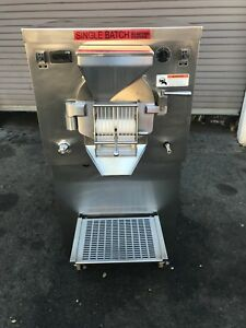 2014 Electro Freeze Rfc3 Batch Freezer Gelato Italian Ice Cream Machine 1ph H2o