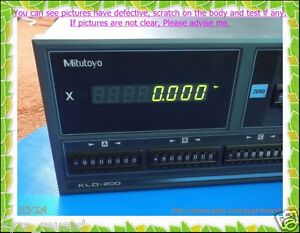 Mitutoyo Kld214 Digital Readout As Photos Sn 0292 D m Ftu