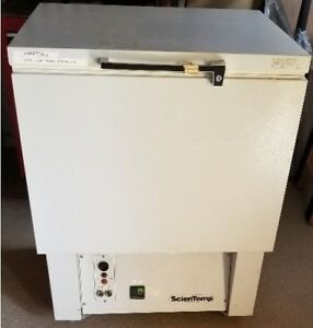 Sciencetemp Science Temp Ultra Low Chest Style Freezer Model 85 7 1a