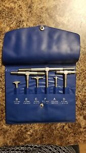 Telescoping Gage 6 Piece Set 5 16 6