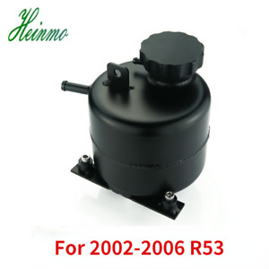 Alloy Radiator Coolant Expansion Tank For 2002 2006 R53 Mini Cooper S 05 08 R52