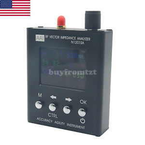 N1201sa Uv Rf Vector Impedance Ant Swr Antenna Analyzer Meter Tester Us Seller