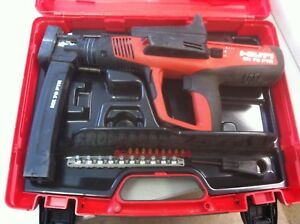 Hilti Dx 76 Ptr Powder Actuated Fastening Tool W Mx 76 Ptr Fastener Mag
