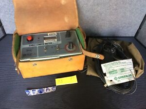 Greenlee Beha Unitest Insulation Tester W leather Storage Case Megger