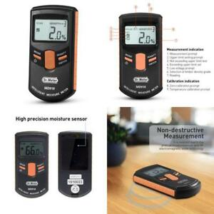 Wood Moisture Meter Pinless Digital Ultra Large Lcd Inductive Woodworking Tools