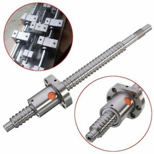 250mm Ball Screw Sfu1605 Ball Screw With Single Ball Nut For Cnc