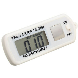 Kt 401 Air Ion Tester Counter ve Negative Ions With Peak Maximum Hold