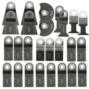 26pcs Mixed Blades Multitool Saw Blade Accessories For Fein Multimaster Bosch