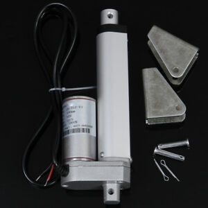 4 Inch 100mm 12v 1000n 225lb 12mm s Miniature Dc Electric Linear Actuator Motor