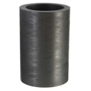 40X60mm 25 OZ Graphite Crucible Cup Ingot Bar Combo Mold For Silver Gold Melting