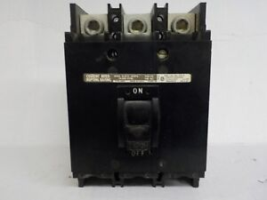Square D Circuit Breaker Box Q2m3175mt 3 Pole 240 Ac 175 A