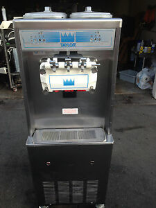 2003 Taylor 794 Soft Serve Frozen Yogurt Ice Cream Machine Warranty 3ph Water