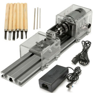 Raitool Lb 01 Mini Lathe Beads Machine Wood Working Diy Lathe Polishing Drill