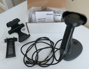 Honeywell Hyperion 1300g 2 Handheld Barcode Scanner Reader With Stand