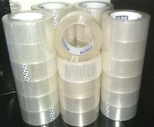 36 Rolls 3 960 Yards Uline S 423 Packaging Packing Tape 2 X 110yds 2 Mil