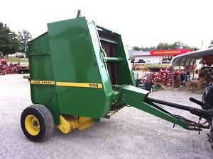 John Deere 330 Round Baler size 4x4 Can Ship 1 85 Loaded Mile