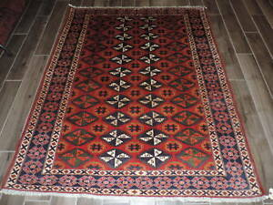 6x5ft Superb 200 Kpsi Tajik Shirvan Wool Rug