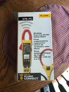 New Fluke 376 Fc True rms Ac dc Clamp Meter With Iflex
